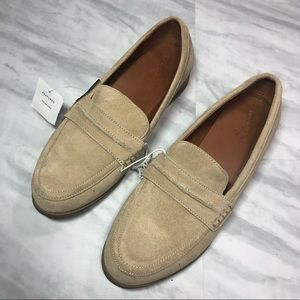 Universal Thread Taupe Suede Loafers 7